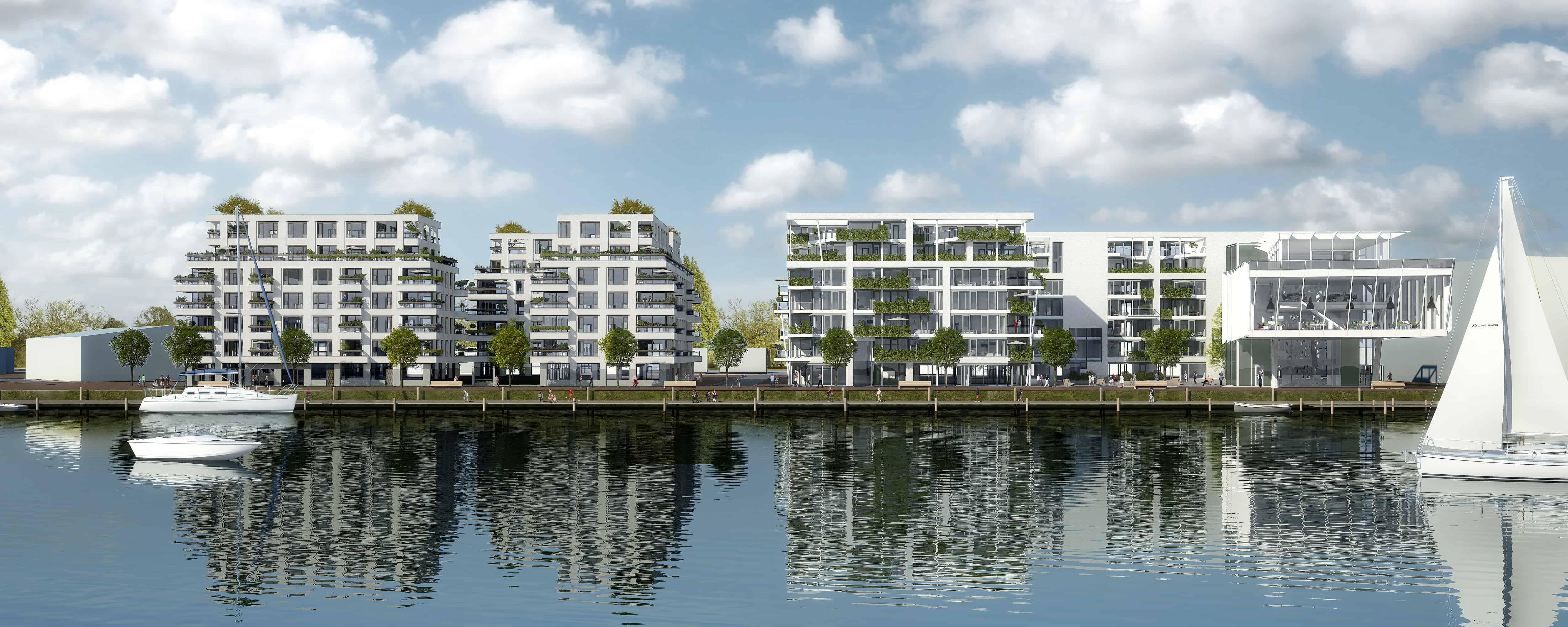 Duurzame woningbouw Cruquius Amsterdam