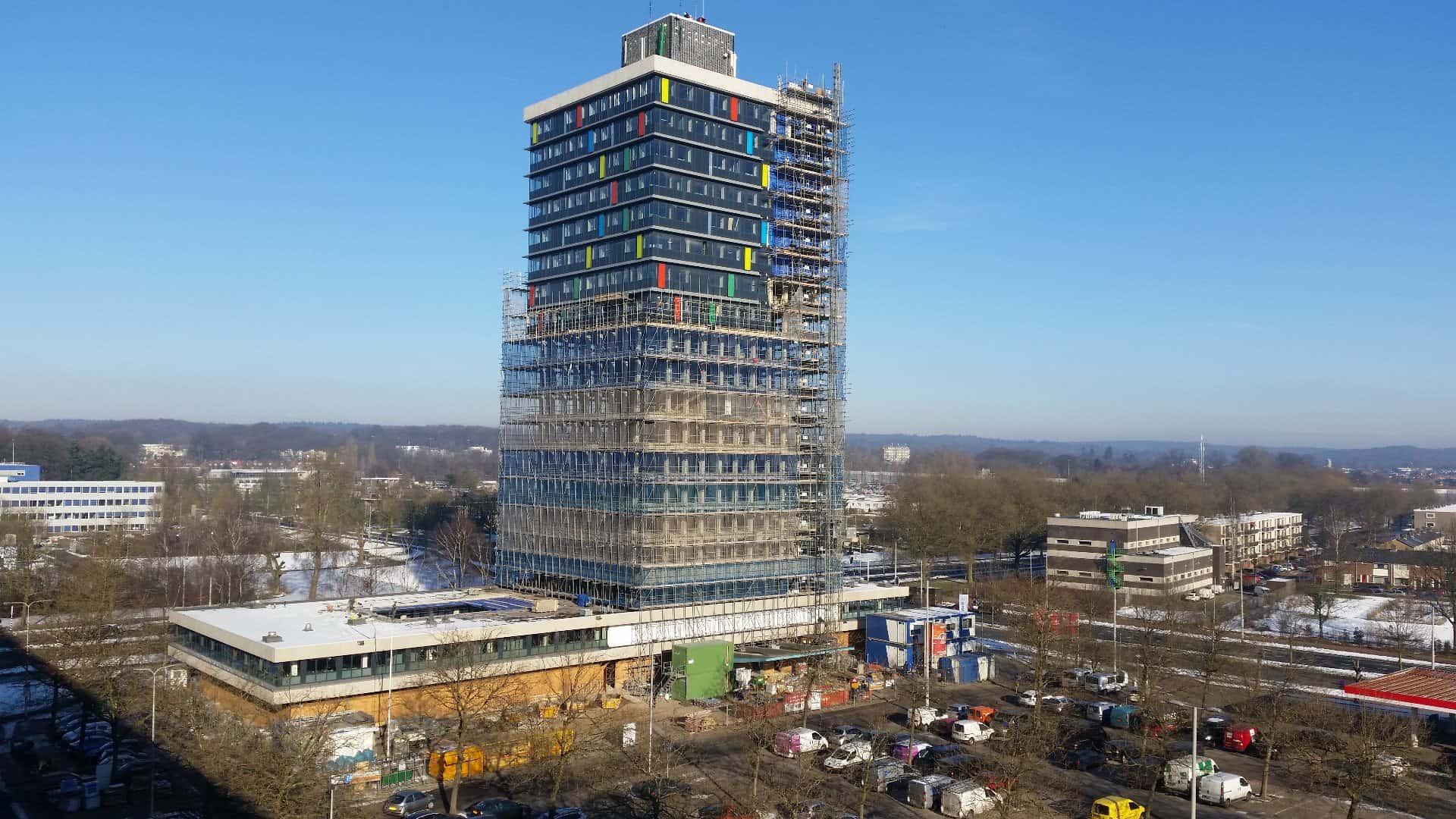 De grootste kantoortransformatie naar studentenwoningen buiten de Randstad: RWS toren Arnhem