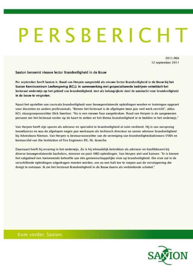 2011-09-12_Persbericht_nieuwe-lector-Brandveiligheid-Saxion-Hogeschool_middel-1