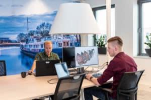 Samenwerken kantoortuin Zwolle
