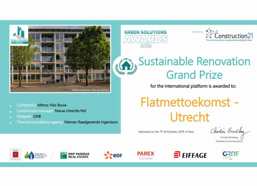 2019_Diploma_GSA_INT ptf_Renovation GP_Flatmettoekomst