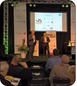 VIB-voorzitter Hans Koole heeft 6 oktober 2016 in Den Bosch namens de technische isolatiebranche het Manifest Sociale Duurzaamheid ondertekend.