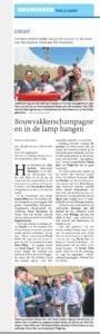 Artikel Dagblad vh Noorden 4-7-2015