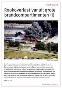 Rookoverlast vanuit grote brandcompartimenten