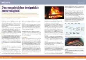 BREEAM-NL_2014-11_Duurzaamheid door doel gerichte brandveiligheid