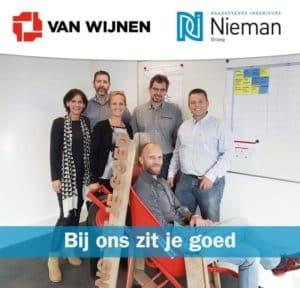 Duurzame kantoor renovatie Nieman Zwolle