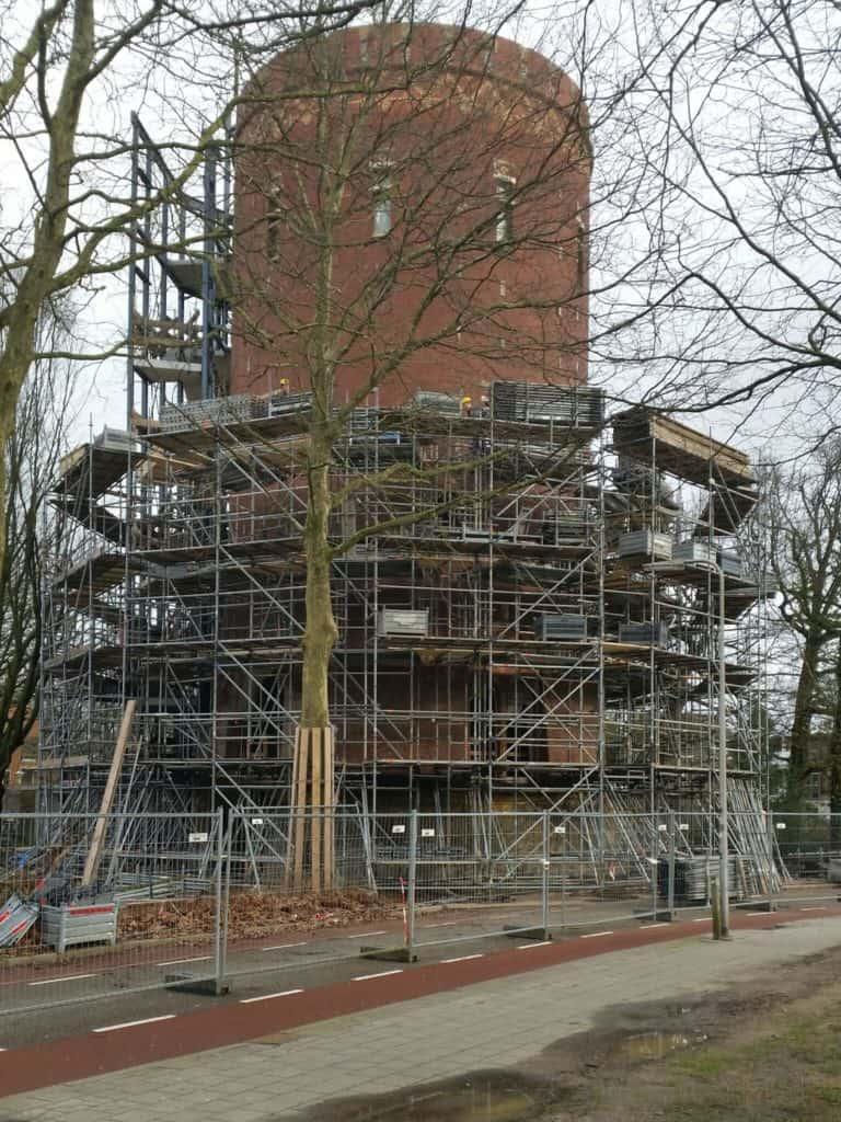 Bouwfoto Watertoren Zwolle