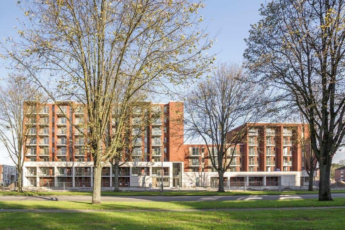Breehorn appartementengebouw Amsterdam, opgeleverd mei 2018