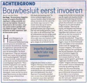 Cobouw-2011-05-03_Bouwbesluit-eerst-invoeren