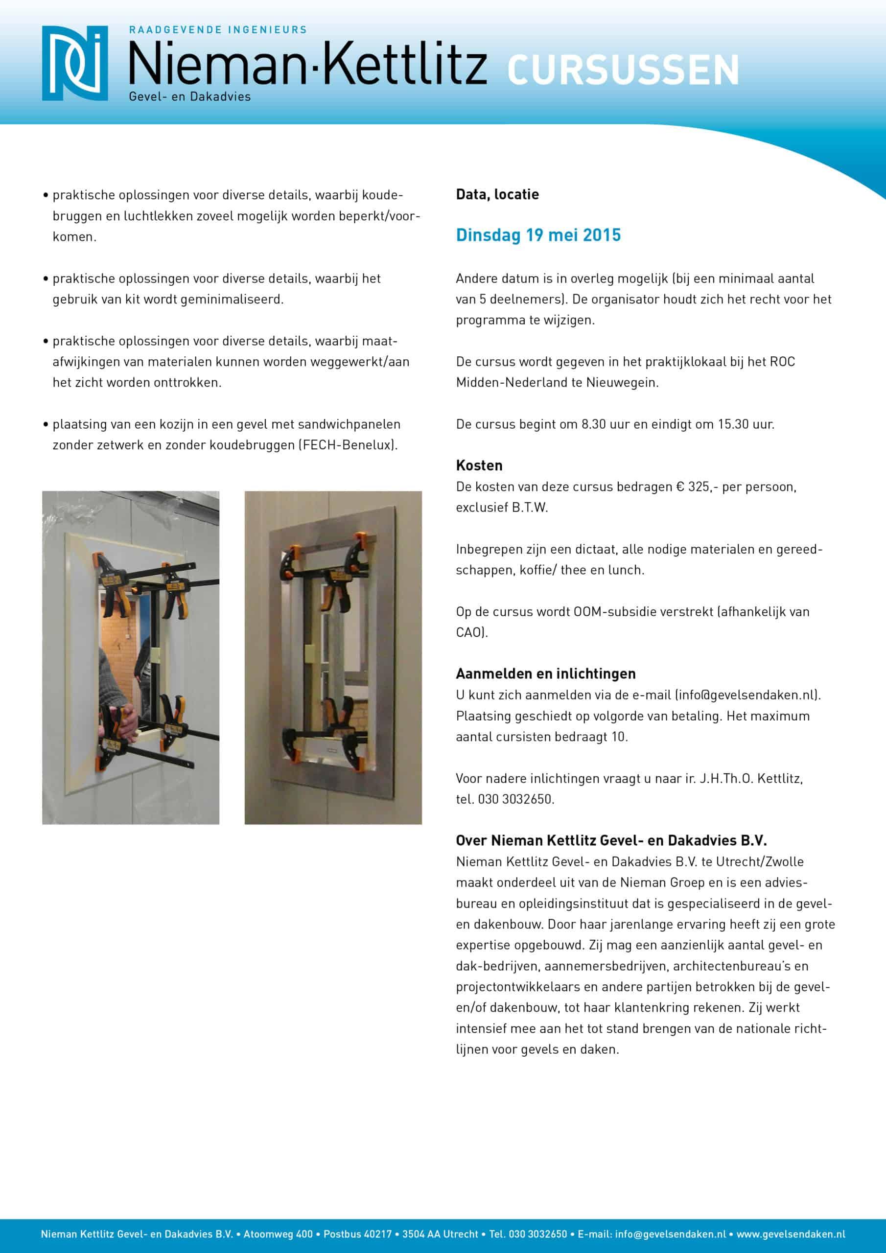 Cursus praktische detailleren 02