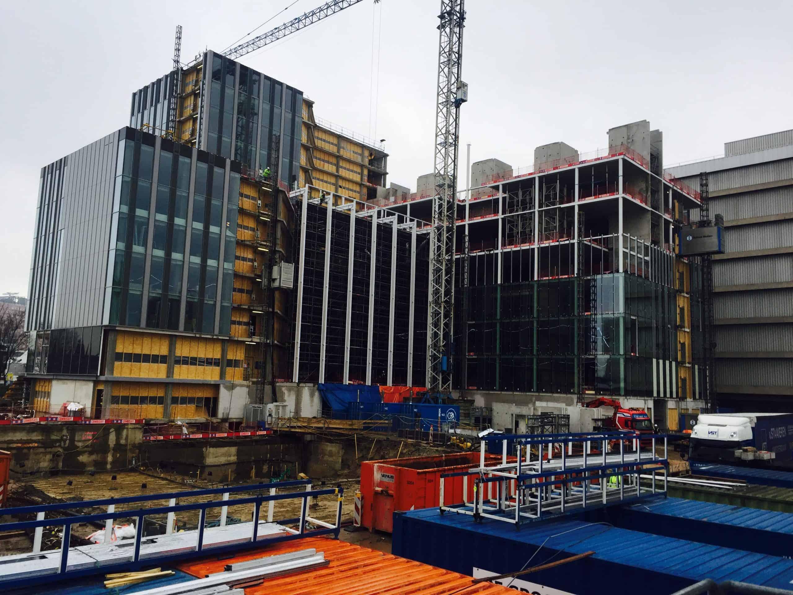 De-Knoop-bouwfase