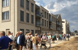 Feestelijke opening stationsgebied Wierden, juli 2018