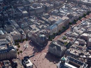 Flagshipstore Marks&Spencer, impressie helicopterview © Rijnboutt