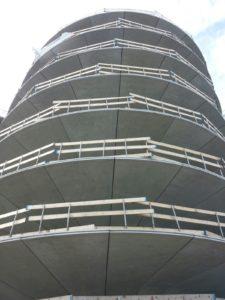 Bouwfoto, juli 2016 multifunctioneel parkeergebouw RAI