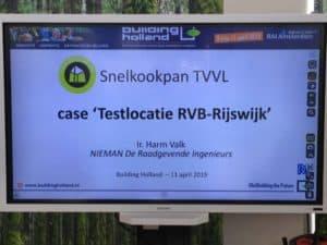 Snelkookpansessie TVVL Kennisplein Building Holland 2019