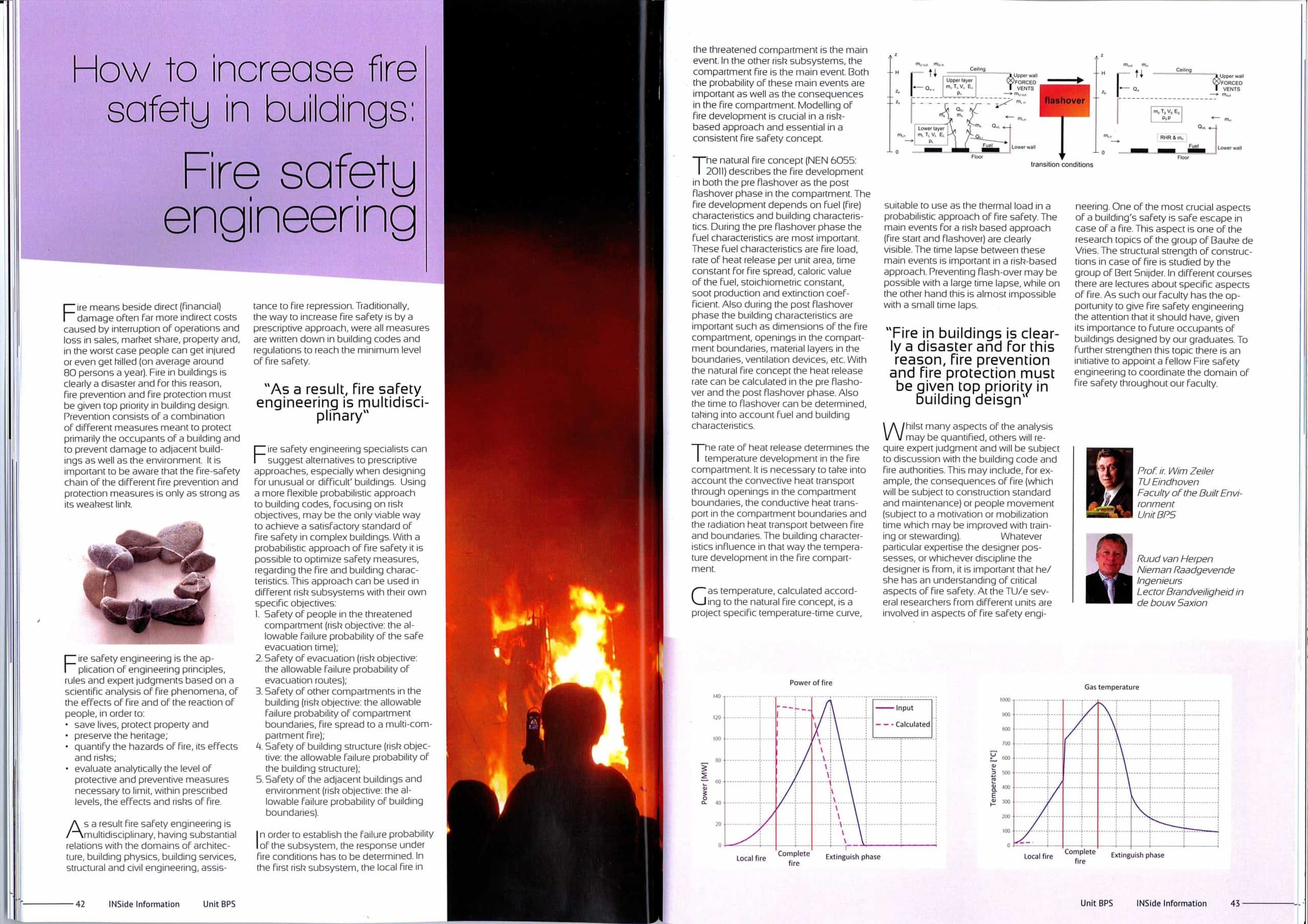 INSide information_2011-12_How to increase fire safety in buildings -  Fire Safety Engineering