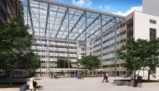 Atrium gebouw Amsterdam