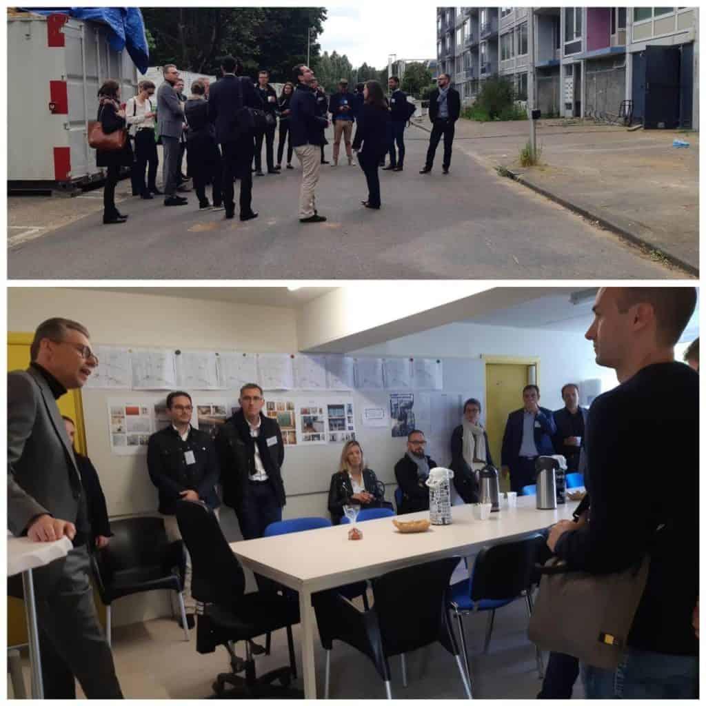 John Bouwman leidt delegatie Frankrijk rond NOM Utrecht collage