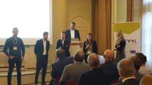 Kennispartners op TVVL Tehcniekdag met Nasja Geertjes van Nieman