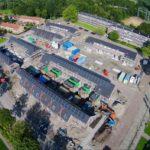 Luchfoto bouw Schieringen-Zuid Leeuwarden