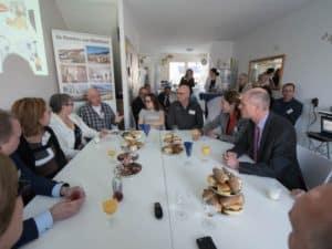 Minister Blok bezoekt project Poorters van Montfoort ©PR-GroenWest