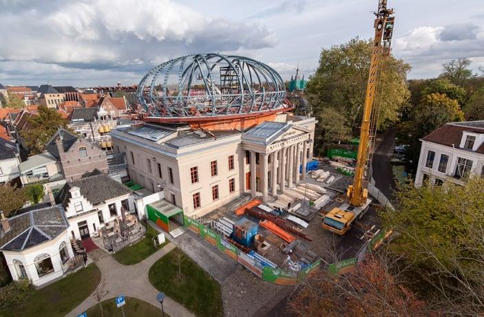 Uitbreiding Museum de Fundatie