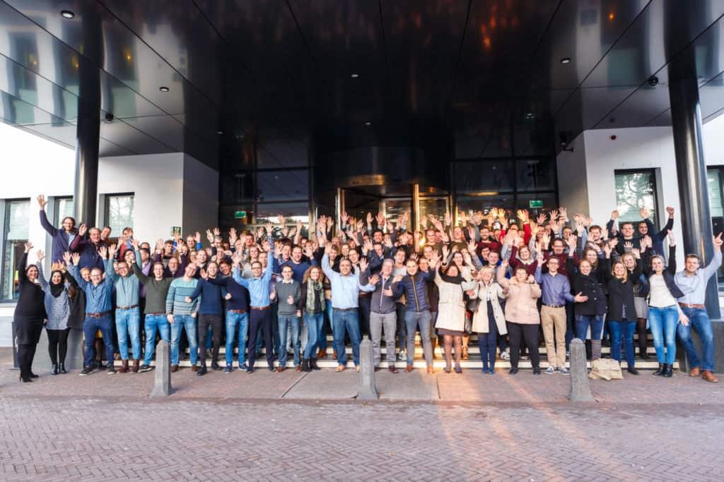 Groepsfoto alle medewerkers Nieman Raadgevende Ingenieurs