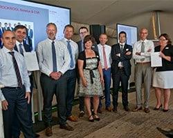 Overhandiging CSR report