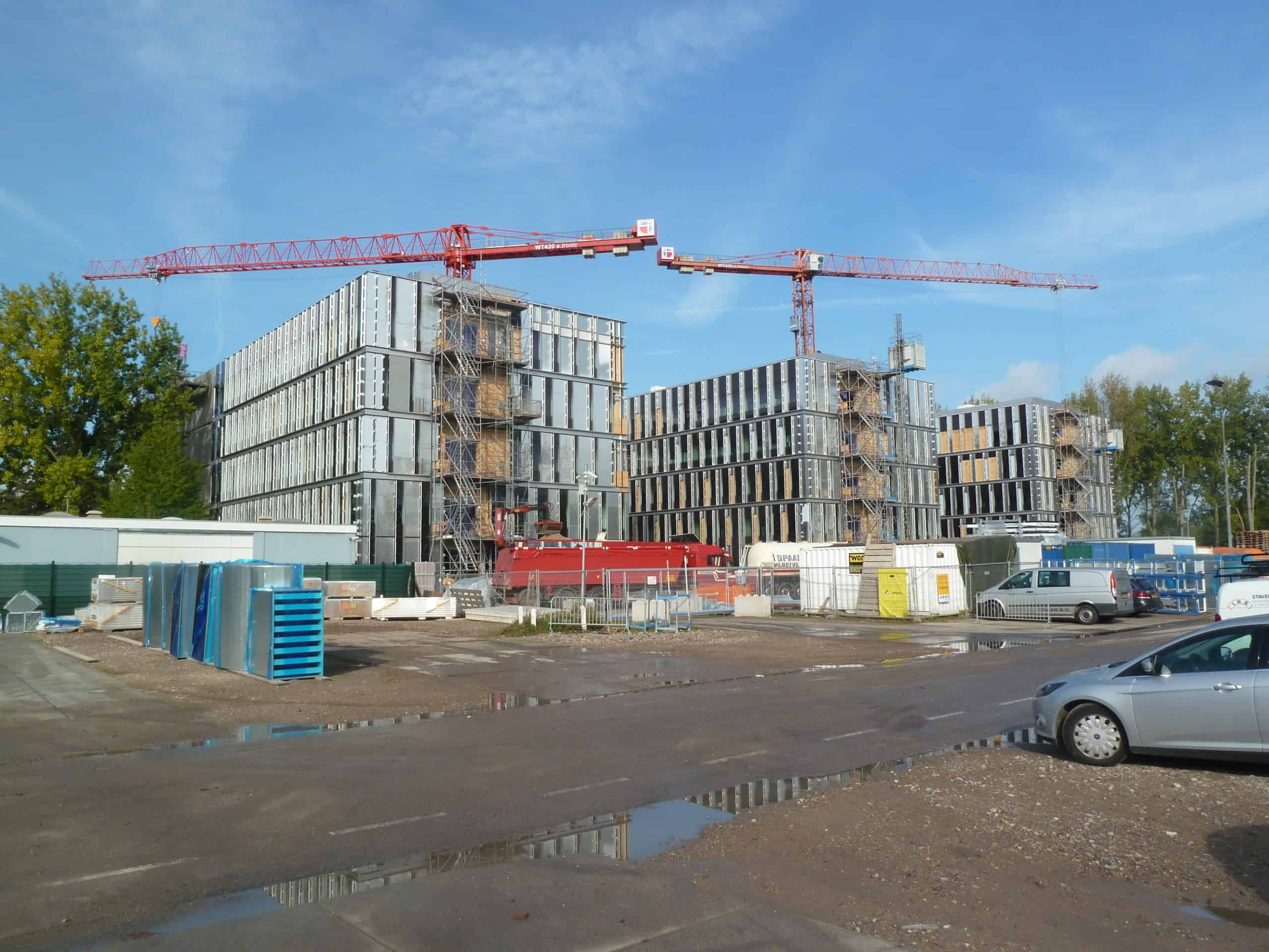 Bouw Bèta campus Leiden