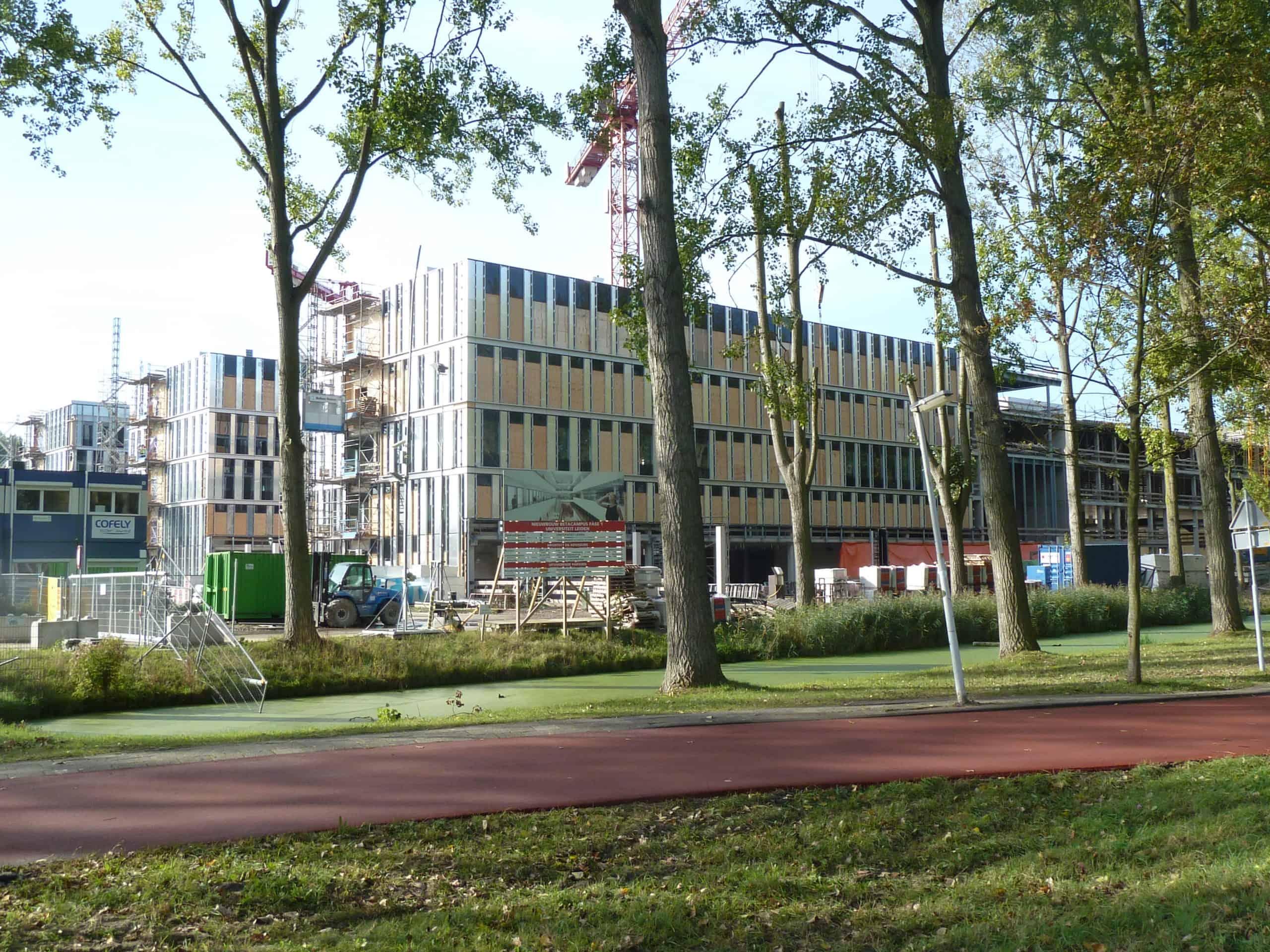 Impressie Bèta Campus Leiden