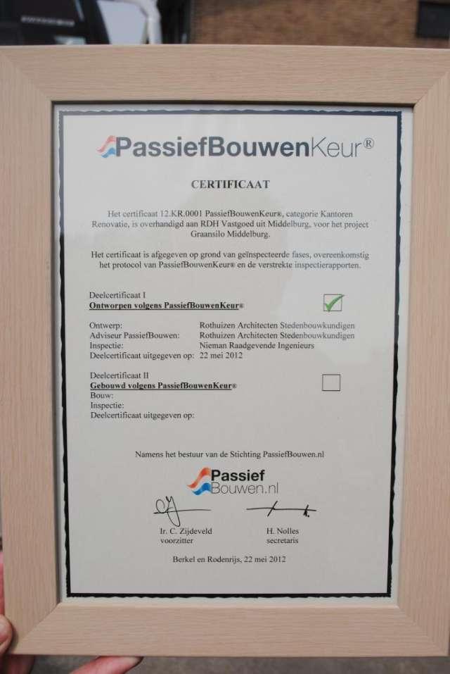 PassiefBouwenKeur®_certifcaat_Graansilo-in-Middelburg-1