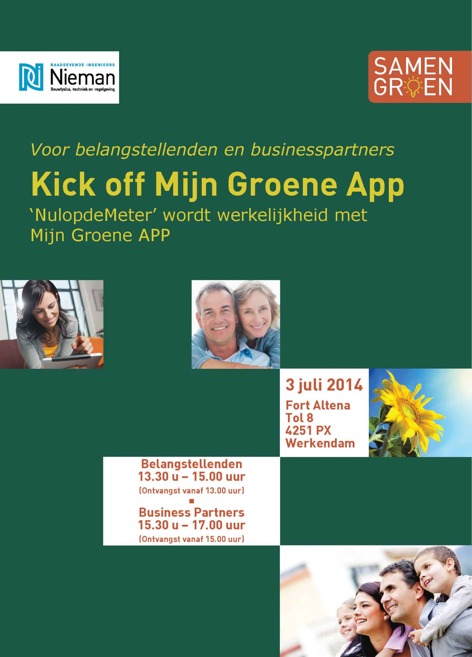 Mijn groene app 1