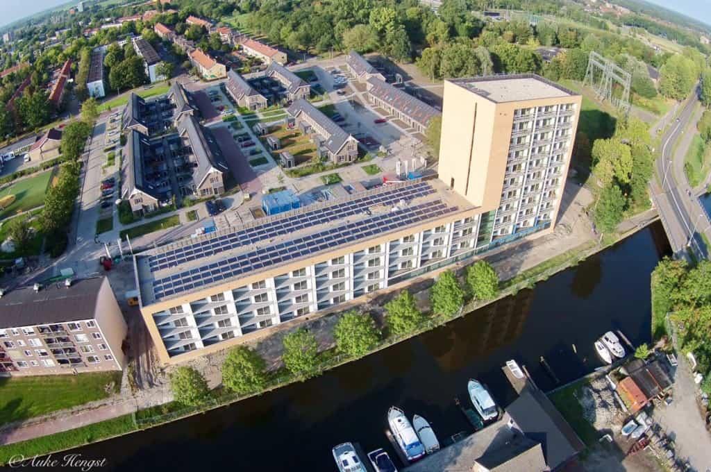 92 all-electric appartementen Leeuwarden