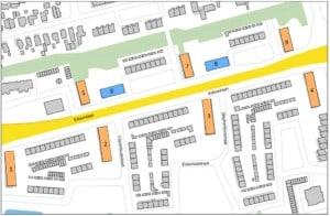 Situatie renovatie voor een groot aantal portieketageflats en galerijflats van de Woonmensen Apeldoorn