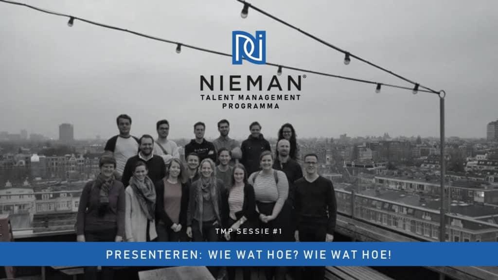 Talent Management Programma Nieman januari 2019
