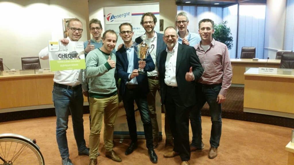 De Nieman Groep uit Zwolle heeft de Mobiliteitsbattle Zwolle – Kampen 2016 gewonnen!
