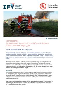 Congres Fire Safety & Science