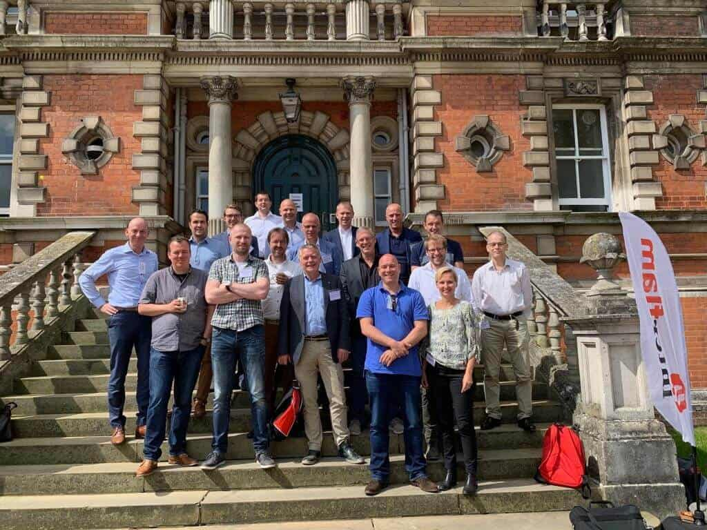 VVBA leden op Interflam 2019
