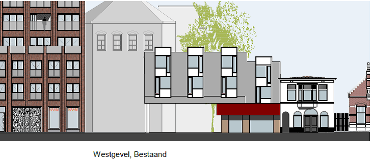 Walstraat Enschede voor renovatie