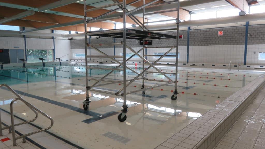 Onderzoek zwembad TU Eindhoven