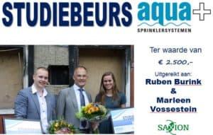 aquaplus-studiebeurs-uitreiking 29062015