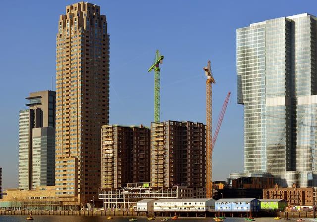bouwfoto-woontorens-Boston-en-Seattle