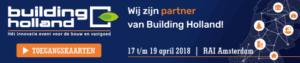 Aanmeldlink Nieman Building Holland 2018