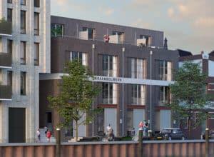 kadewoningen-toekomstig Kraanbolwerk, Zwolle
