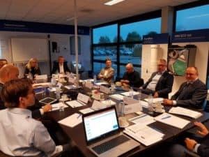 Round tabel over Nom en bewoners georganiseerd door Duurzaam gebouwd