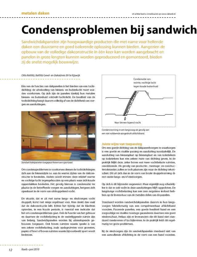 roofs6-2010p12-13_Condensproblemen-bij-sandwichpanelen-Kettlitz_1-2