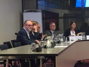 Harm Valk aanwezig bij en technische briefing van Tweede Kamerleden over de BENG-eisen en NTA8800