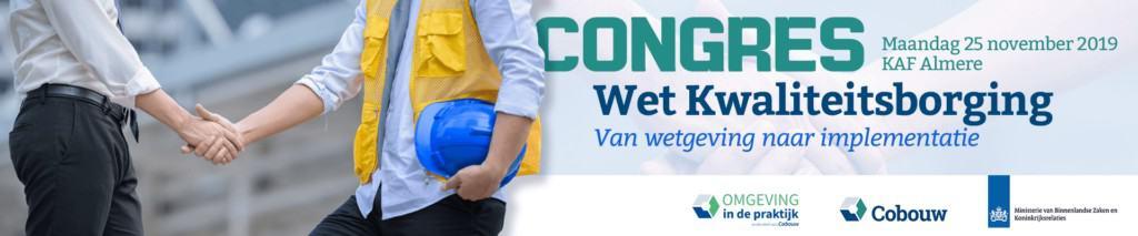 Congres Wet kwaliteitsborging met Johan van der Graaf van Nieman