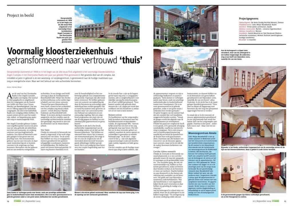 Artikel transformatie Kloosterziekenhuis-zorgappartementen_renovatietotaal