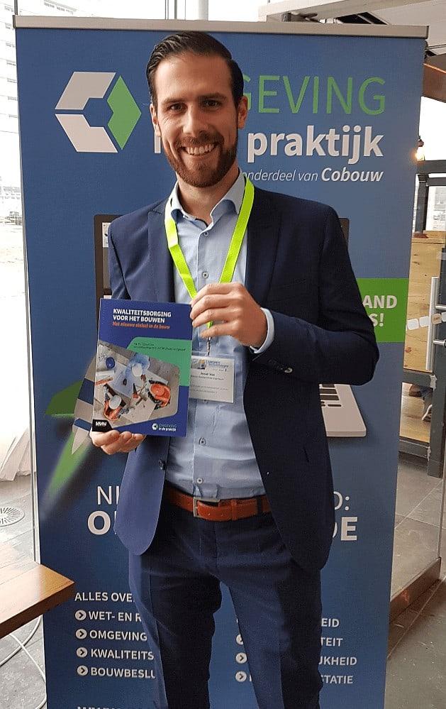 auteur Joost Vos van het boek Kwaliteitsborging voor het bouwen